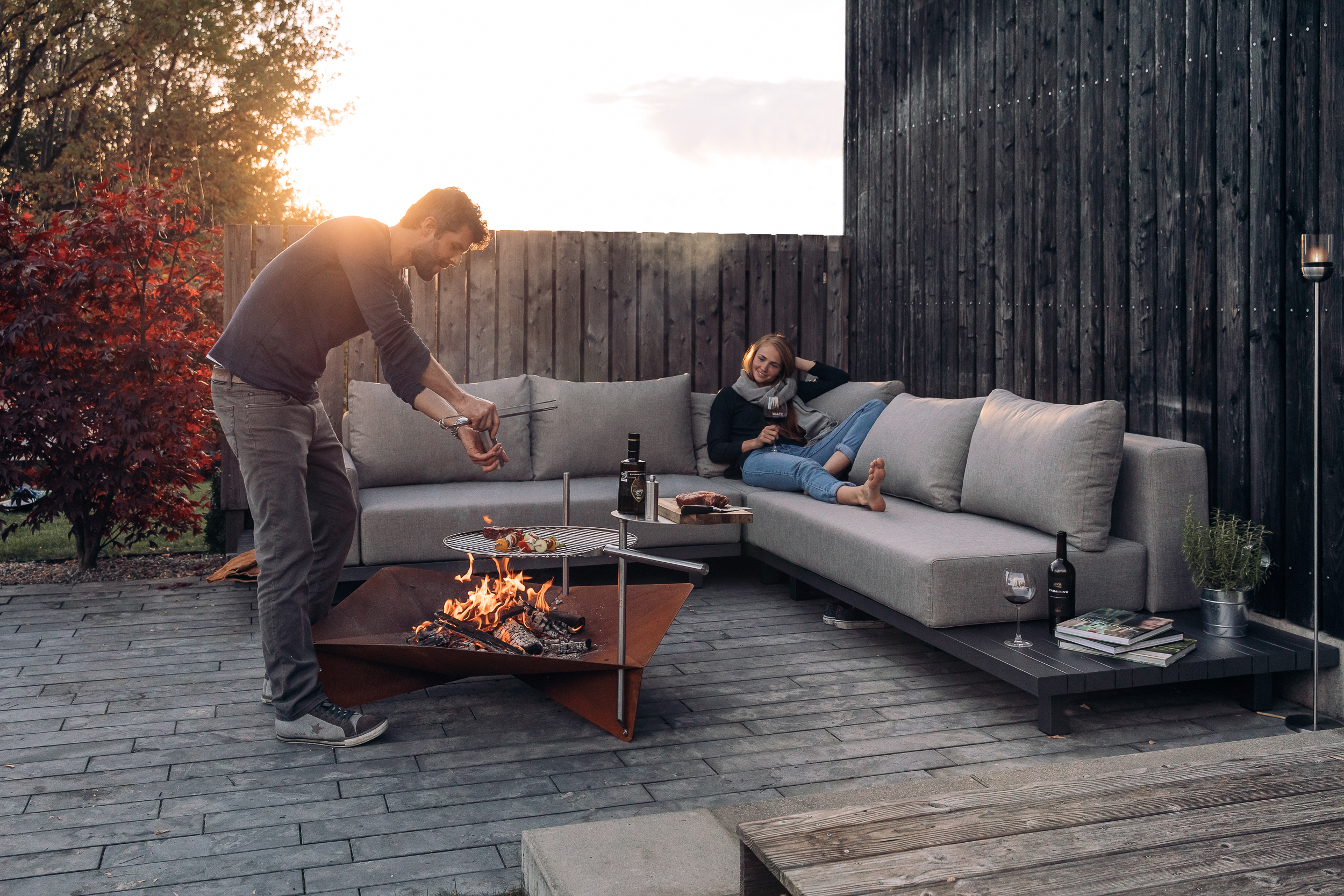 Feuerschalen für den Garten: 7 schöne Design-Feuerstellen – Echte ...